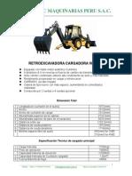 Retroexcavadora Cargadora Wz30-25