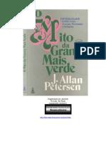 o Mito Da Grama Mais Verde - j. Allan Petersen