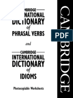 Cambridge International Phrasal Verbs
