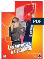 "Flyer ""les energies à l'écran"""