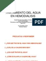 Tramiento Del Agua en Hemodialisis 23-05-2013