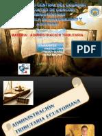 Admi Tributaria en El Ecuador Trabajo Grupal