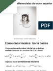 3 Ecuaciones Diferenciales Orden Superior