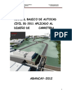 Manual de Civil 3d 2012