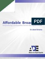 Affordable Broadband
