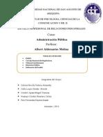 Administracion Publica Word