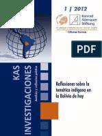 Mancilla HCF y Otros Reflexiones Sobre La Temática Indigena en Bolivia de Hoy