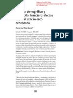Cambio Demográfico y Desarrollo Financiero