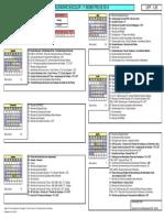 Calendário Escolar de 2014 - CFP 109 - 1ºsem14