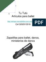 Artículos Para Ballet