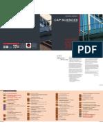 Rapport d'activité Cap Sciences - 2008