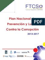 Plan de Lucha Contra la Corrupción 2013-2017