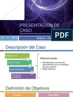 PNL - Caso Clinico