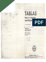 Tablas Para La Industria Metalurgica-Herrman Jutz, Eduard Scharkus