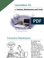 PC Diagnostic, Testing, Maintenance and Tools - Prashant Serai
