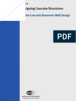 Buried Concrete Basement Wall Design 2013-04