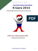 Solusi Osn Guru Mat 2014