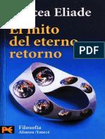 Eliade_El Mito Del Eterno Retorno