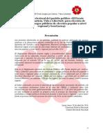 Reglamento Electoral y Anexos FAJVL