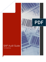 SAP Audit Guide Inventory