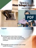 Syarahan guru sebagai pemikir-Dato Jaafar