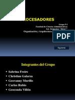 Trabajo de Investigación Informática-Procesadores