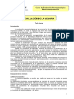 EvaluacionDeLaMemoria
