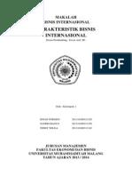 Karakteristik Bisnis Internasional