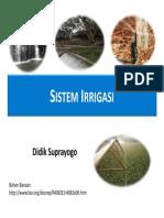 Sistem Irrigasi