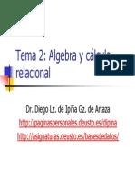 Tema2 Algebra Calculo Relacional