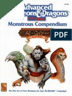 [Accessory] [2129] Monstrous Compendium I
