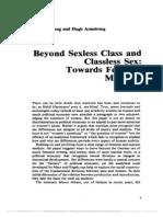 Towards Feminist Marxism