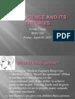 CheckPoint Intelligence Presentation