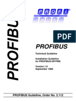 A05 Installation Guideline DP FMS 2112 V10 Sep98