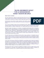 Historia de Movimiento Scout Chileno