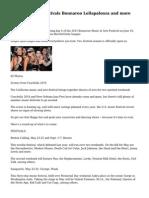 Summer music festivals Bonnaroo Lollapalooza and more