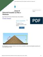 Estimación Del Volumen de Material Granular en Pilas o Montones _ Tutoriales Al Día - Ingeniería Civil