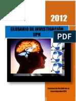 F. GI_Glosario de Investigación
