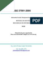 ISO 27001-2005 ESPAÑOL