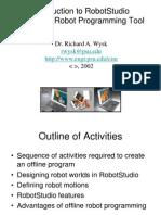 i e 450 Robot Studio