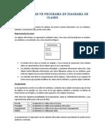 Representar Un Programa en Diagrama de Clases
