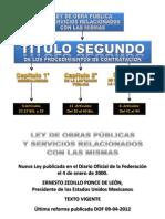 Ley de Obras Publicas u3
