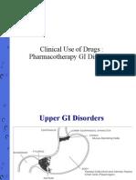 Pharmacotherapy GI Disorders
