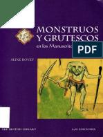 Bovey Alixe - Monstruos Y Grutescos en Los Manuscritos Medievales