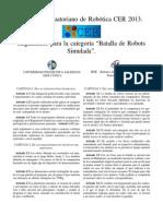 Reglamento Batalla de Robots Simulada