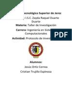 Pro y Ect Taller Investigacion
