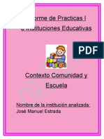 Informe de Practicas I E INSTITUCIONES Terminadooooo