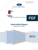 Internship Report by Mansoor Ali Seelro