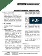 SRW Installation Guidelines