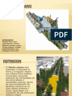 Diapositivas de Diseño Urbano